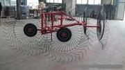 Грабли-ворошилки модель 9LZ-3 навесные на мини-трактор